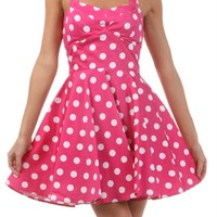 Birthday Party Polka Dot Dress