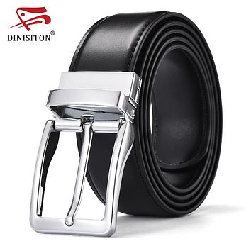 Special Military Belts For Male High Quality Genuine Leather Pin Buckle Luxury business belts