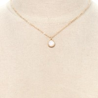 Iridescent Charm Necklace | Forever 21 - 1000222066
