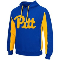 Pitt Panthers Royal Script Thriller Hoodie by Colosseum