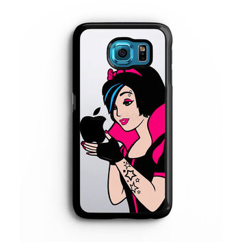 snow white emo decal Samsung S6 s5 s4 S3 Case, Note 3 4 5 Case, iPhone 6s 5s 5c 4s Cases, iPod case, HTC case, Xperia Z3 case, LG G3 Nexus case, iPad cases