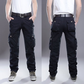 Tactical Cargo Outdoor Pants Men Combat