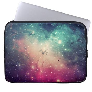Beautiful Cool Colorful Hipster Nebula Stars Photo Laptop Computer Sleeves