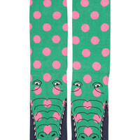 Spotty Crocodile Socks - Stocking Fillers  - Holiday Shop
