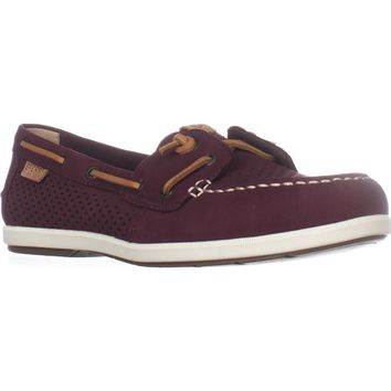 Sperry Top-Sider Coil Ivy Boat Shoes, Scale Grape, 11 US / 42.5 EU