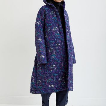 Paisley Padded Coat by Vetements- La Garçonne