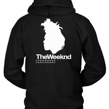 DCCKG72 The Weeknd Siluet Four Hoodie Two Sided