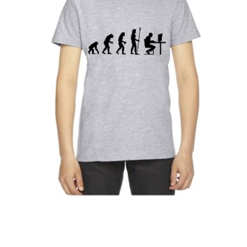 evolution computer age - Youth T-shirt