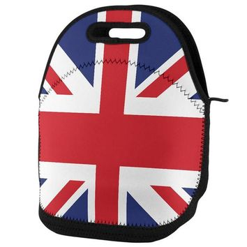 DCCK8UT British Flag Union Jack Lunch Tote Bag