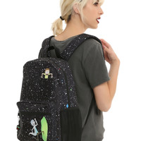 Rick And Morty Portal Pocket Backpack