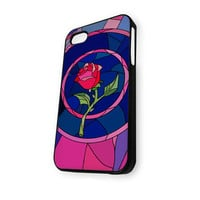 Beauty And The Best Rose Stainet Glass iPhone 5C Case