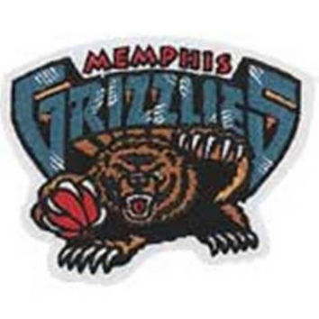 Memphis Grizzlies NBA Team Patch