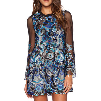 The Wallflower Lagoon Dress in Multi