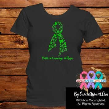 Bile Duct Cancer Faith Courage Hope Shirts