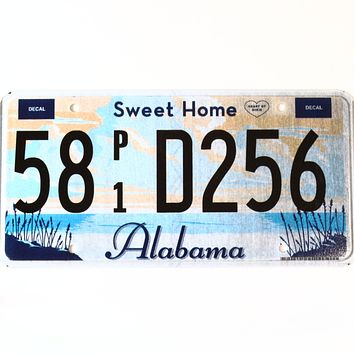 Alabama Sweet Home Alabama Truck License Plate 58 P1 D256