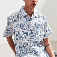 Chums Mahalo Short Sleeve Button-Down Shirt | Urban Outfitters
