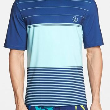 Men's Volcom 'Sub Stripe' Short Sleeve Rashguard,