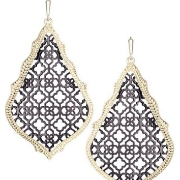 Adair Earrings in Gunmetal - Kendra Scott Jewelry