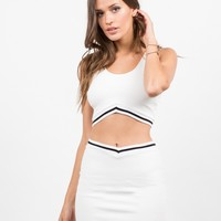 Sporty Cropped Top