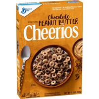 Cheerios Chocolate Peanut Butter Breakfast Cereal - 11.3oz - General Mills