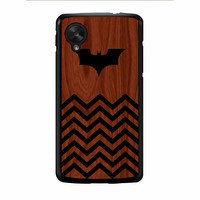 Batman And Black Chevron Nexus 5 Case