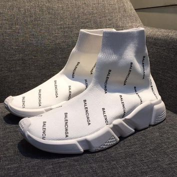 Balenciaga Women Fashion Casual Socks Shoes
