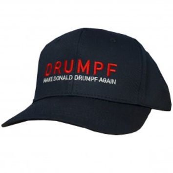 Make Donald Drumpf Again Baseball Cap -- Blue