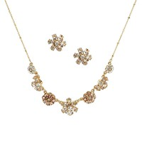 kate spade new york Mom Knows Best Frontal Necklace & Stud Earrings Boxed Set   Dillards