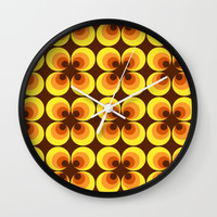 zappwaits RETRO Wall Clock by netzauge