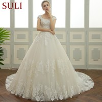 SL-106 New Country Western Lace Bridal Dresses Plus Size Wedding Dress 2017