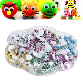 Mix Color Eyelashes Wiggly Wobbly Googly Eyes Scrapbooking Crafts