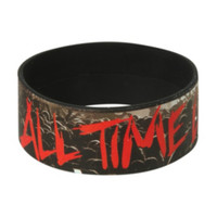 All Time Low Crowd Rubber Bracelet