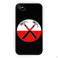 Pink Floyd The Wall Custom Silicone For iPhone 4 / 4S Case