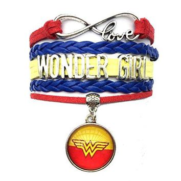 DOLON Wonder Woman BraceletGift for WifeMomGrandma