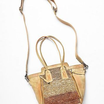 Free People Womens Bantry Leather Tote