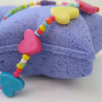 Star Bath Bomb with Necklace Inside