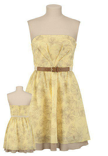 Christopher Straub Floral Belted Dress - maurices.com