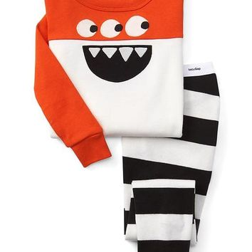 Halloween monster sleep set | Gap
