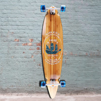"""Sailor 44"""" Bamboo Pintail Longboard from Ehlers - Complete"""