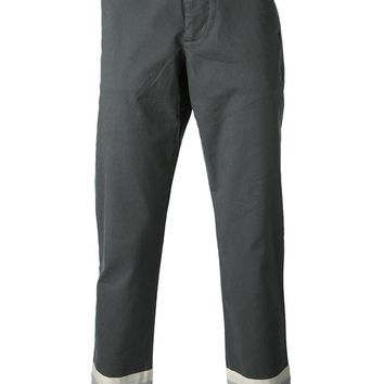 puma x bwgh bwgh panelled hem chino trousers  number 1