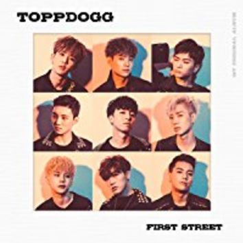 TOPPDOGG-[FIRST STREET] 1st Album CD+108p Photo Book+1p PhotoCard K-POP Sealed