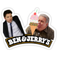 BEN AND JERRY'S ICE CREAM (PARKS AND REC)