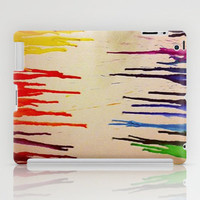 Crayon Art iPad Case by Rhiannon