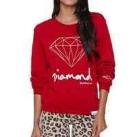 Diamond Supply Co Script Crew Fleece at PacSun.com