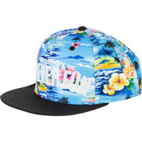 Neff Forever Fun Cyan Tropical Resort Snapback Hat