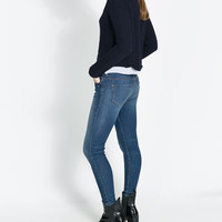 SKINNY CROPPED JEANS - Jeans - WOMAN | ZARA United States