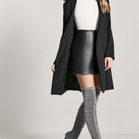 Metallic Over-the-Knee Boots