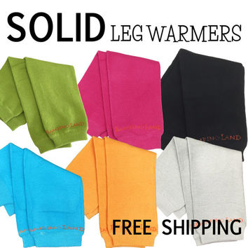 Solid Leg Warmers - fit 3 months to 18 months