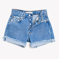 High Rise Classic Vintage Blogger Shorts