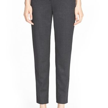 Women's St. John Collection 'Emma' Stretch Flannel Pants,